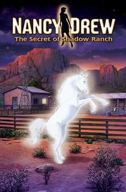 Nancy drew the secret of shadow ranch cover art jpeg