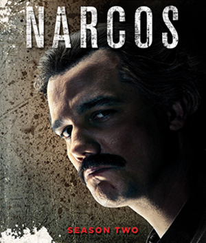 Narcos (season 2) - Blu-ray cover