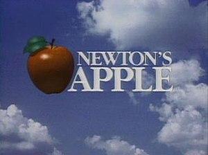 Newton's Apple - The Newton's Apple title.