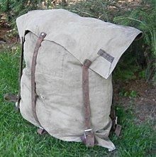 Number 3 Duluth pack canvas and leather style. The #3 has no  set out  and so is envelope-shaped. & Duluth pack - Wikipedia