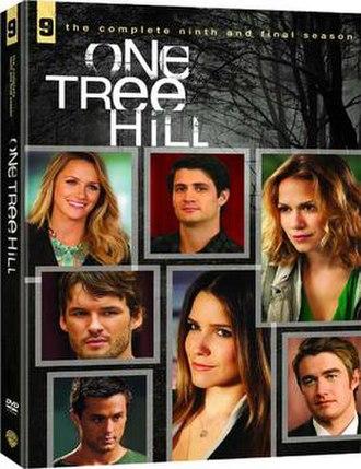 One Tree Hill (season 9) - One Tree Hill Season 9 DVD cover