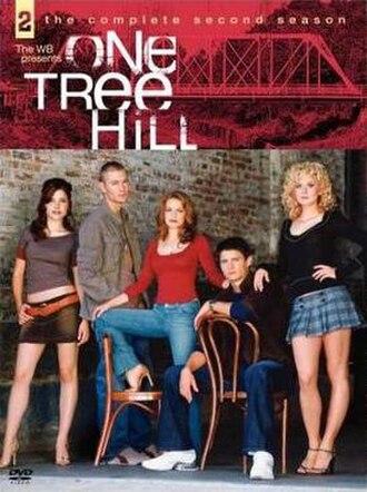 One Tree Hill (season 2) - One Tree Hill Season 2 DVD cover