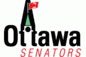History of the Ottawa Senators (1992–) - Pre-launch logo, 1989–1991.