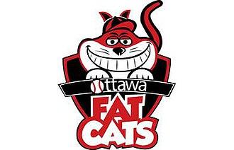 Ottawa Fat Cats - Image: Ottawa Fat Cats jersey logo