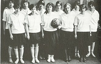 Pinkerton Academy - Girls' basketball team 1925