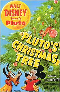 <i>Plutos Christmas Tree</i> 1952 Mickey Mouse cartoon