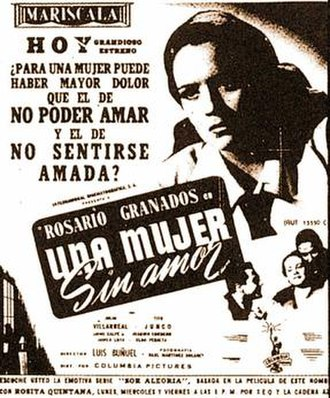 A Woman Without Love - A scene from Una mujer sin amor