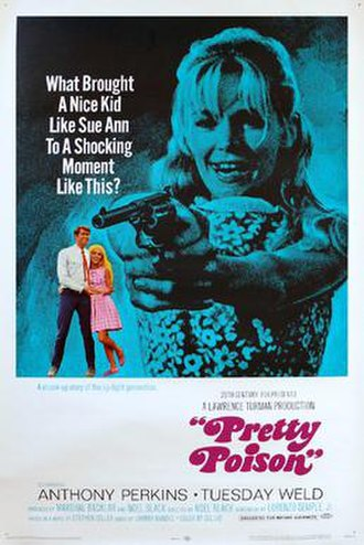Pretty Poison (film) - Original film poster
