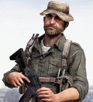 Captain Price - John Price in Modern Warfare 3