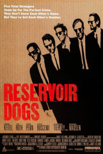 Reservoir Dogs - Theatrical release poster