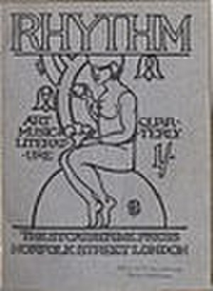 Rhythm (literary magazine) - Cover of Rhythm, Spring 1912