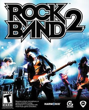 Rock Band 2 - Image: Rock Band 2 Game Cover