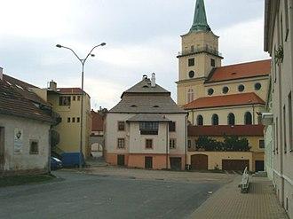 Rokycany - Image: Rokycany church Panna Marie Snezna