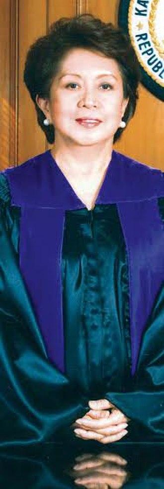 Conchita Carpio-Morales - Image: SC Justice Conchita Carpio Morales