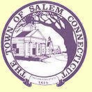 Salem, Connecticut - Image: Salem C Tseal