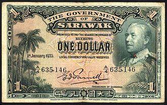 Sarawak dollar - Sarawak dollar of 1935