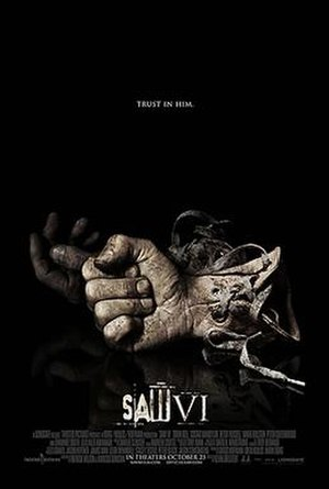 Saw VI - Theatrical release poster