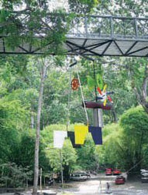 "Miguel Peraza - ""Scales"" Hanging Mobile Monument(Balanza)UNAB, Bucaramanga, Colombia, 2002"