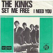 Set Me Free Kinks cover.jpg