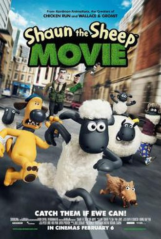 Shaun the Sheep Movie - British theatrical release poster