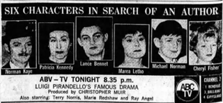 <i>Six Characters in Search of an Author</i> (film)