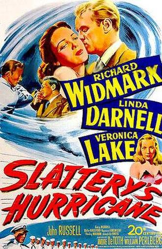 Slattery's Hurricane - Theatrical release poster