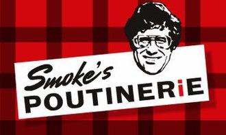 Smoke's Poutinerie - Image: Smoke's Poutinerie wiki logo