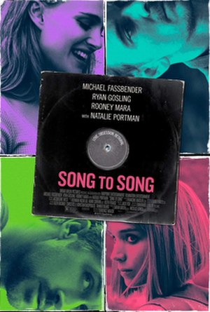 Song to Song - Theatrical release poster