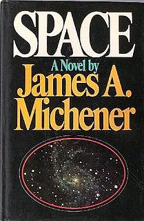 <i>Space</i> (Michener novel) Novel by James A. Michener