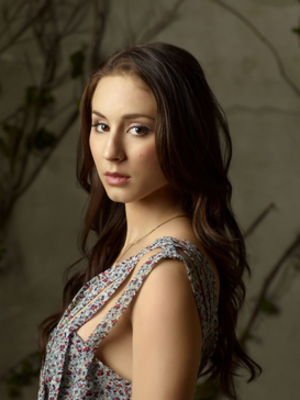 Spencer Hastings - Troian Bellisario as Spencer Hastings for season 1.