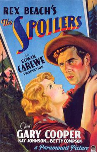 The Spoilers (1930 film) - Theatrical release poster