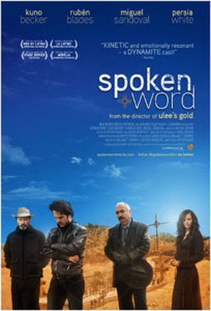 Spoken Word (film) - Theatrical release poster