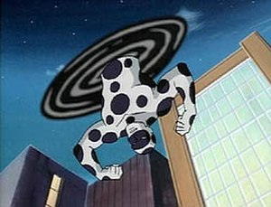 Spot (comics) - The Spot in Spider-Man: The Animated Series.