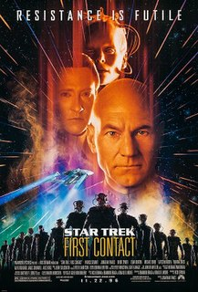<i>Star Trek: First Contact</i> 1996 American film by Jonathan Frakes