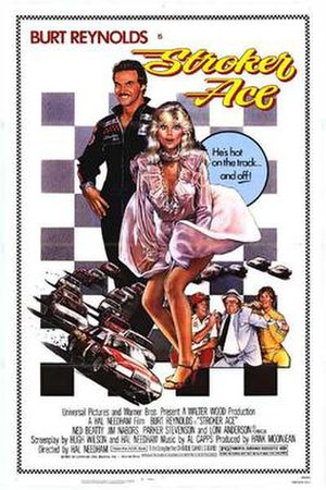 Stroker Ace - Theatrical poster by Drew Struzan