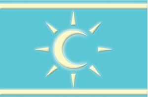 Syria Turkmen Bloc - Image: Syrian Turkmen National Bloc flag