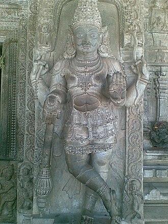 Talakadu - Sculpture from Talakadu Lord Shiva Temple