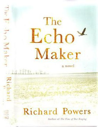 The Echo Maker - Front cover and spine of first edition