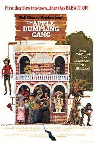 The Apple Dumpling Gang (film) - 1975 theatrical poster