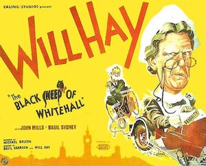 The Black Sheep of Whitehall - Original British quad format film poster