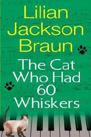 The Cat Who Had 60 Whiskers - First edition cover