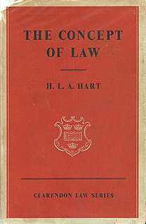 The Concept of Law book by H.L.A. Hart