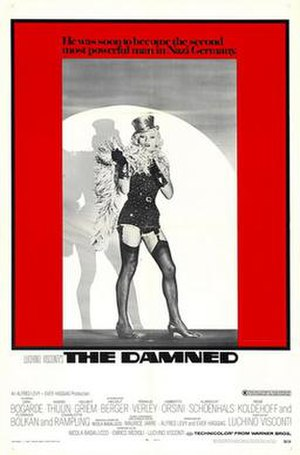 The Damned (1969 film) - Theatrical release poster
