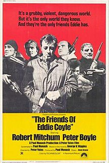 <i>The Friends of Eddie Coyle</i> 1973 film directed by Peter Yates