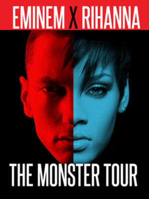 The Monster Tour (Eminem and Rihanna) - Image: The Monster Tour poster