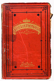 The Salvationist written by Booth himself 1878