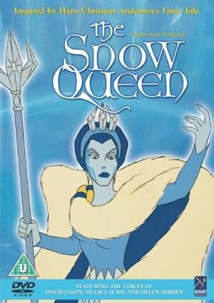 The Snow Queen (1995 film) - Czech DVD cover art