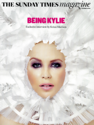 The Sunday Times Magazine - Cover of The Sunday Times Magazine (December 15, 2016), with Australian singer Kylie Minogue