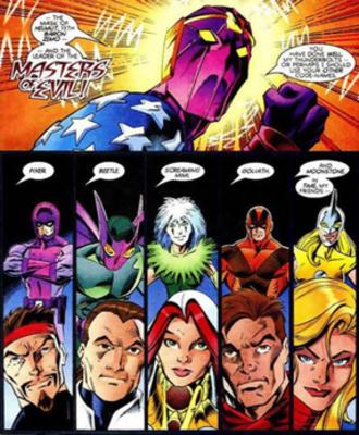 Thunderbolts (comics) - Image: Thunderboltstrue