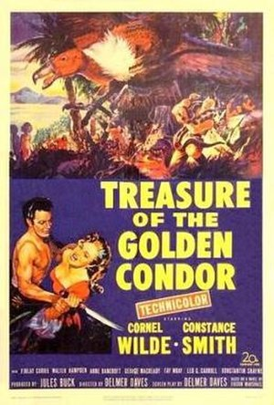Treasure of the Golden Condor - Image: Treasure of the Golden Condor Film Poster